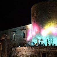 Concerto a sorpresa del Kairòs Quartet sulla torre del castello di Venosa
