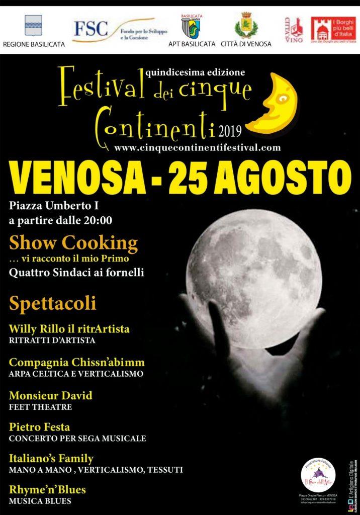 festival dei cinque continenti 2019